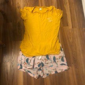 Old navy pajama set